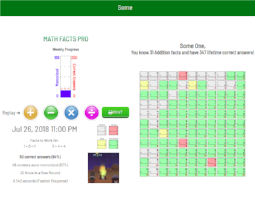 Smart Fluency Assessment & Fun Practice | Math Facts Pro